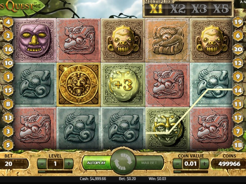 Gonzos Quest Slot screenshot 1