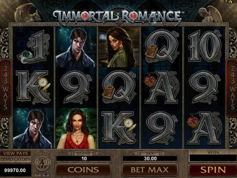 Immortal Romance Slot screenshot 1