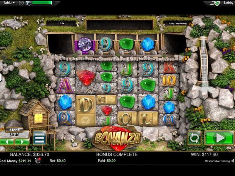 Bonanza Slot Machine screenshot 1