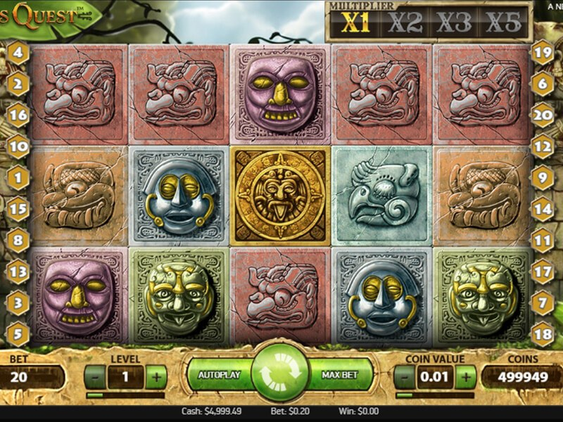 Gonzos Quest Slot screenshot 2