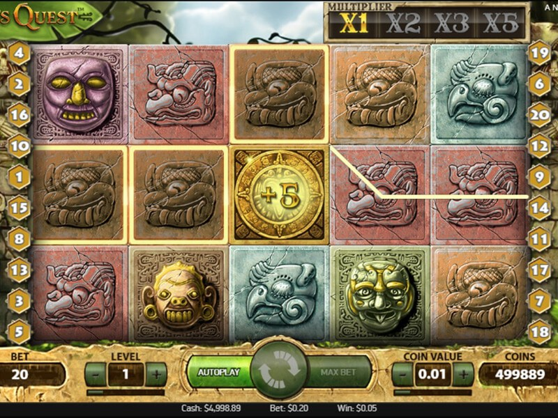 Gonzos Quest Slot screenshot 3