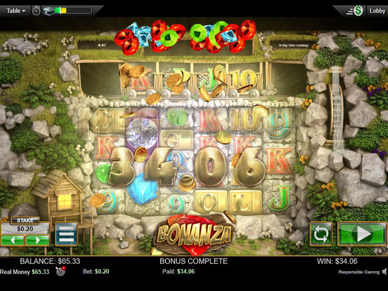 Bonanza Slot Machine screenshot 3