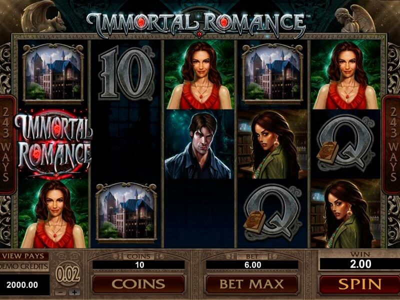 WHAT ARE THE SPECIFIC THINGS THAT DISTINGUISHES CASINO IMMORTAL ROMANCE FROM MANY OF ITS CONTEMPORARIES?